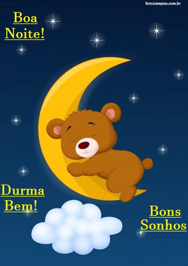 Boa noite fofo e carinhoso