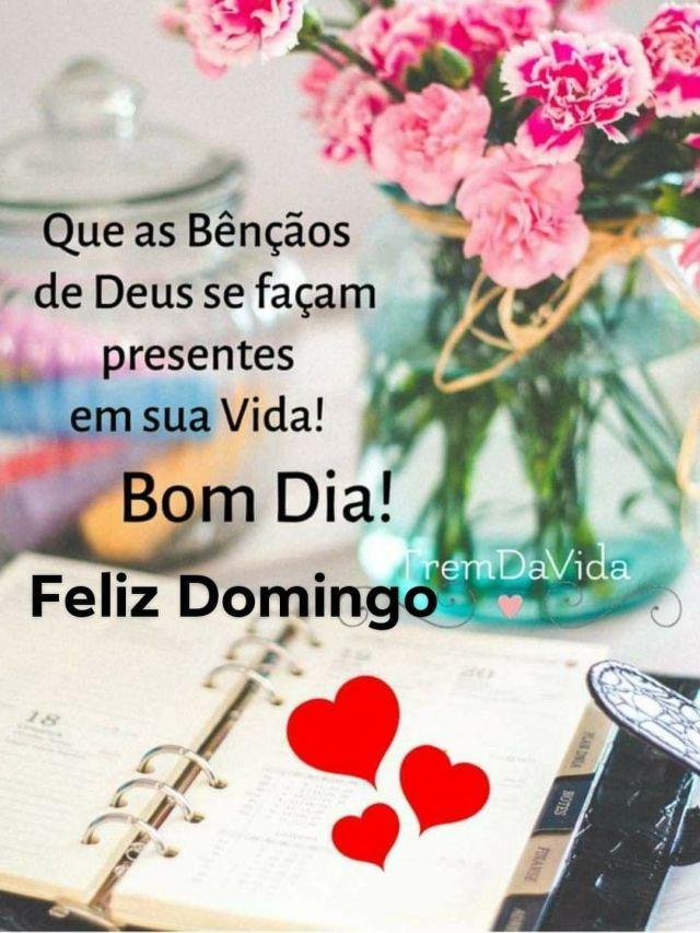 Domingo de bênçãos