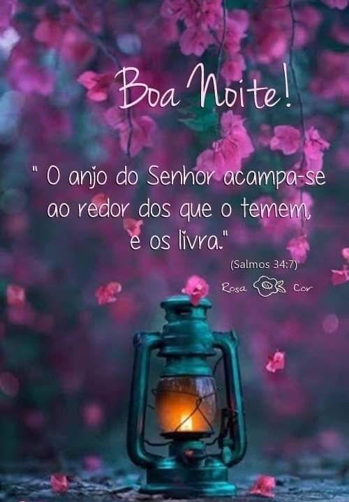Boa noite com o anjo do Senhor