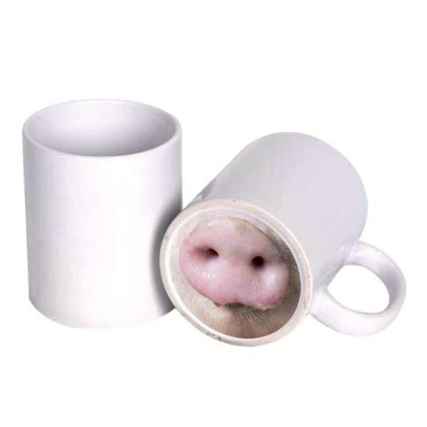 Кружка с принтом веселый нос 'Свинка' | Фотослон Самара ...