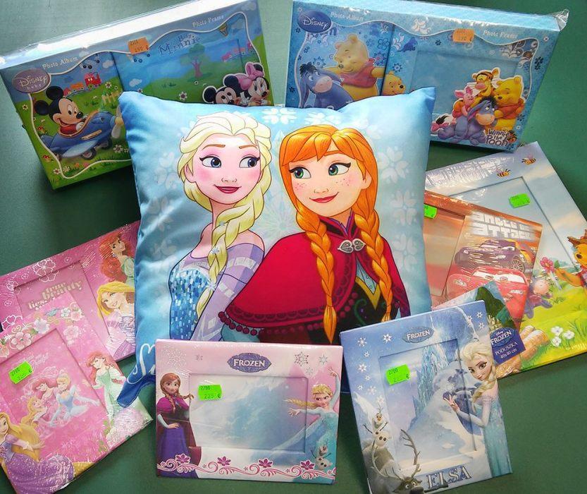 Nový tovar - Disney Frozen albumy a rámiky