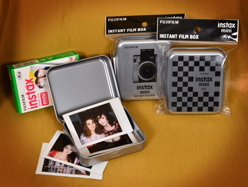 Albumy a boxy na fotky Instax a Instax mini