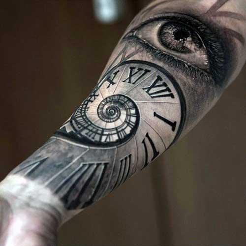 Swirl Tattoo Shading