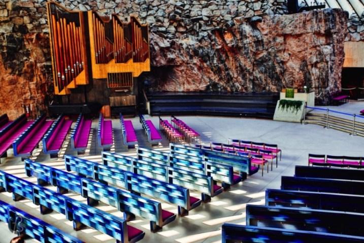 Church in the Rock Helsinki Temppeliaukio Organ 04