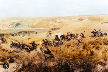 Panorama of the Battle of Racławice in Wrocław_12