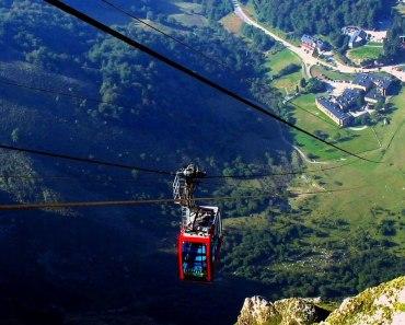 Teleférico de Fuente Dé, impresionante lugar en plenos Picos de Europa