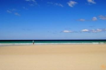 Yo en la Playa de Carnota
