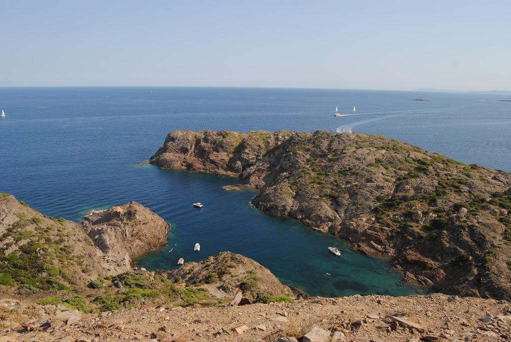 Vistas desde el Cabo de Creus