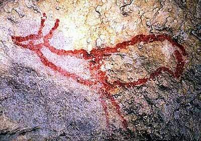 Cierva de la cueva de Covalanas