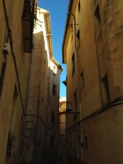 Calles estrechas de Bocairent