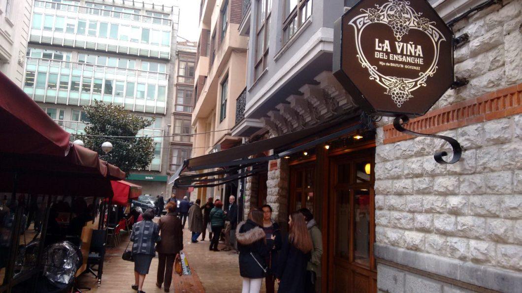Restaurante de Bilbao La Viña del Ensanche