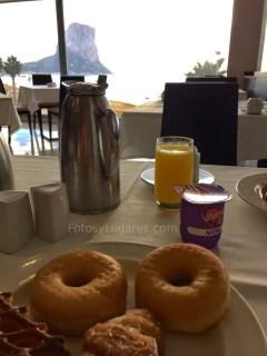 Desayuno en el Gran Hotel Sol y Mar