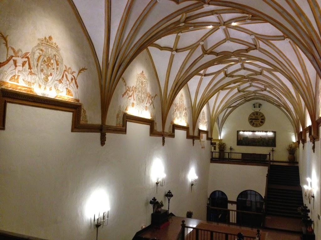 Interior del Hotel del Monasterio de Piedra
