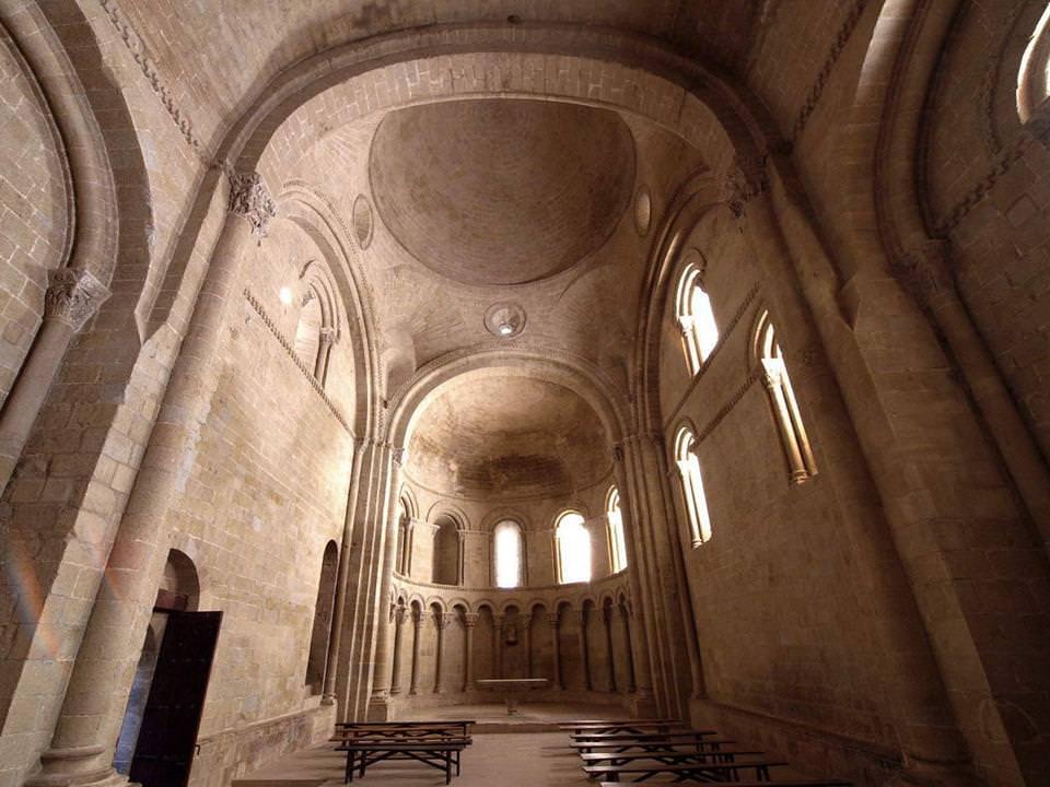 CASTILLO DE LOARRE capilla