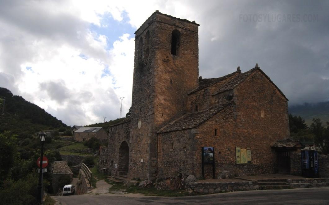 Iglesia de San Martín en la ruta de las ermitas