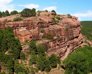 Pinares de Rodeno, paraje con muchas rutas cerca de Albarracín