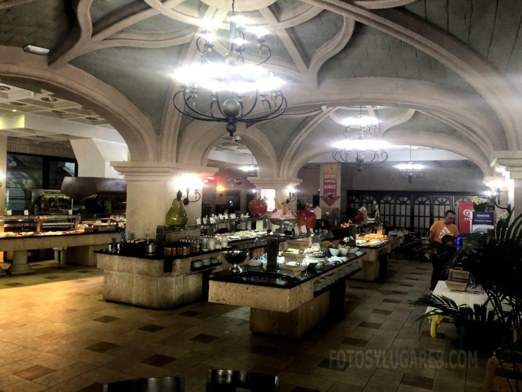 Buffet hotel Balneario Marina d'Or