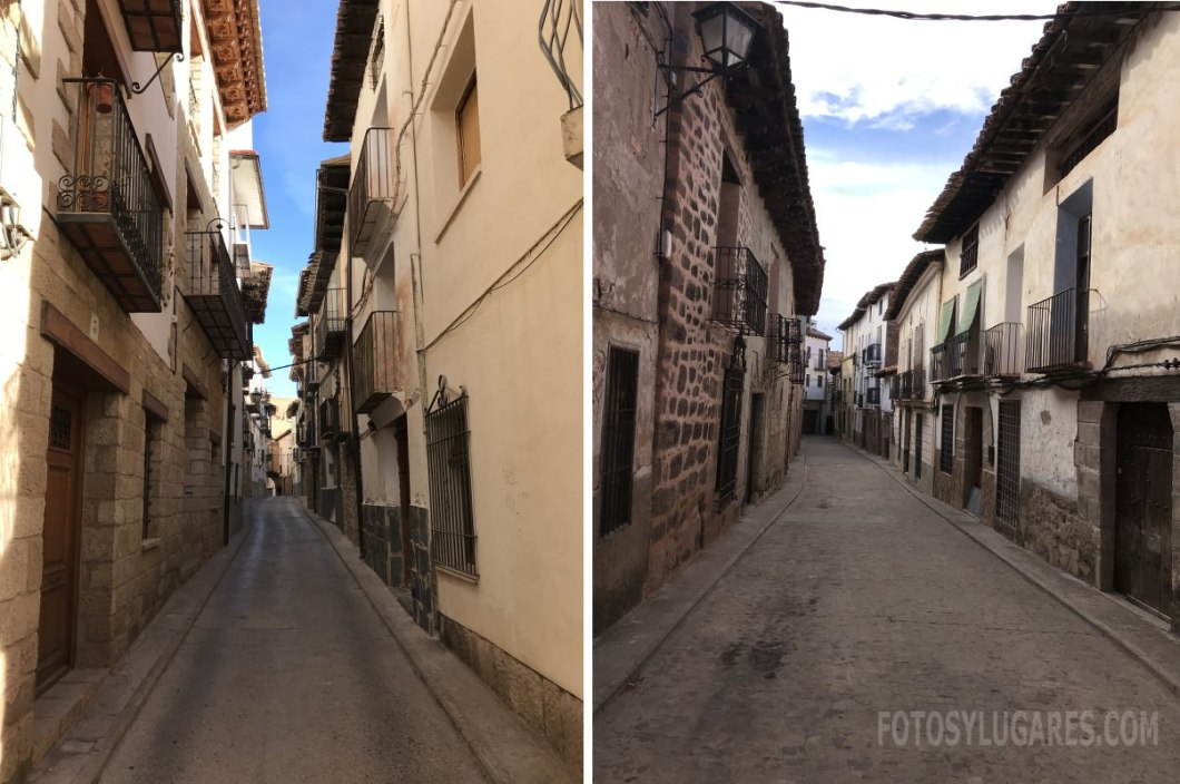 Calles de Mora de Rubielos