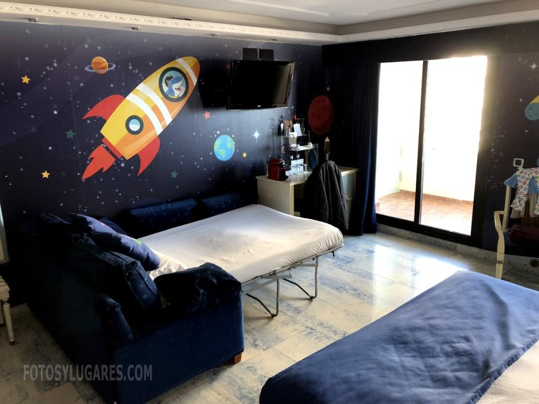 Habitación espacial