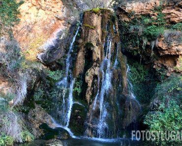 Cascada del Batán, en el merendero El Batanero cerca de Bogarra