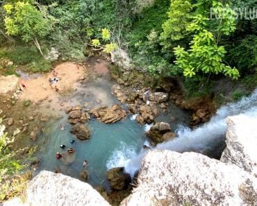 Gorgo de la Escalera, preciosa cascada en Anna (Valencia)