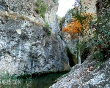 Molí del salt, una preciosa cascada en Benilloba (Alicante)