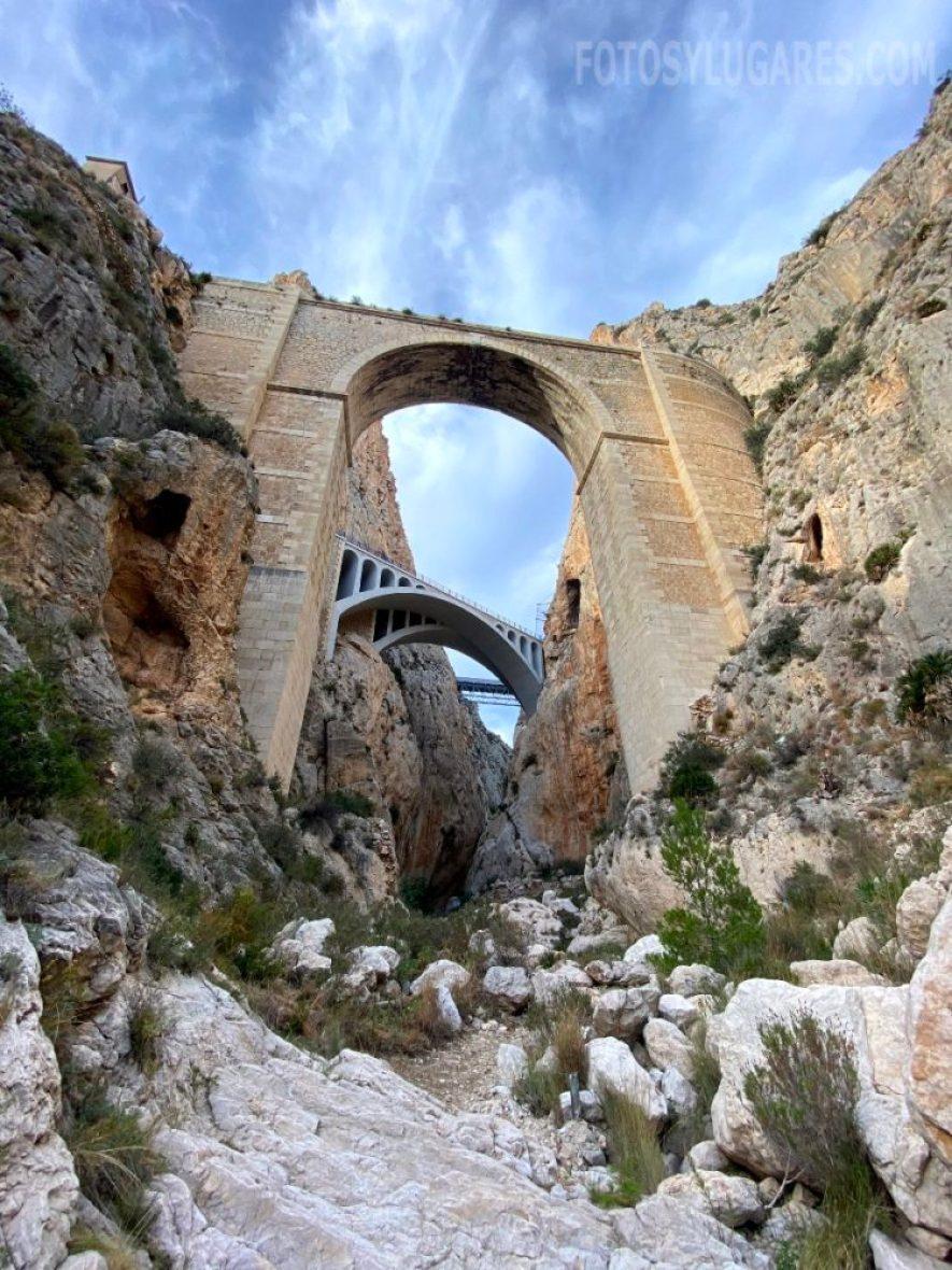 Entrada al cañón
