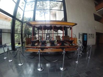Tranvía en el Archivo de Bogotá. Foto: Sebastián Acosta, periodista del Archivo de Bogotá