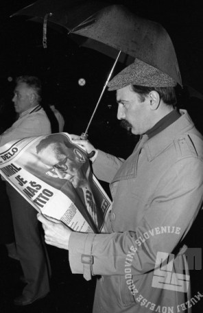 5. maj 1980. Foto: Miško Kranjec