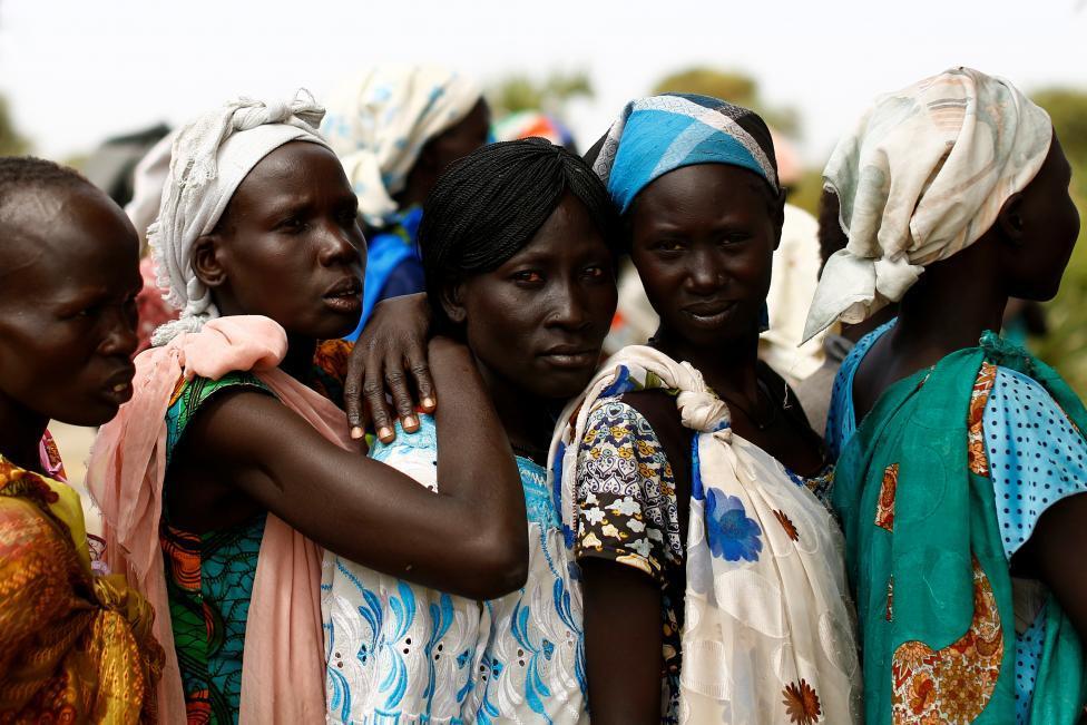 Женщины из Южного Судана