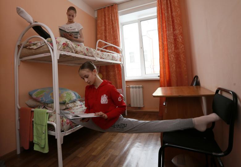 Студентки Красноярского хореографического колледжа