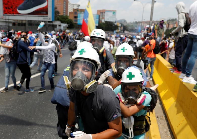 Демонстрации в Венесуэле