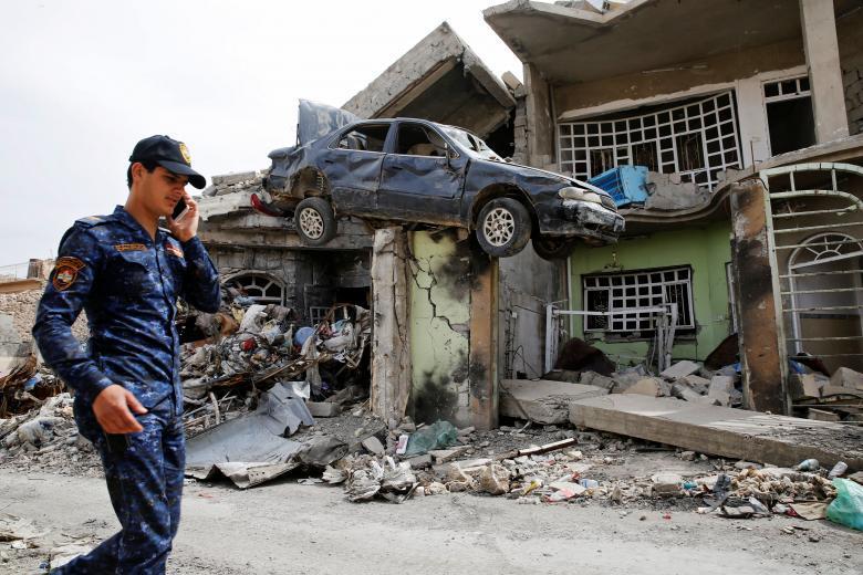 Сотрудник иракской федеральной полиции