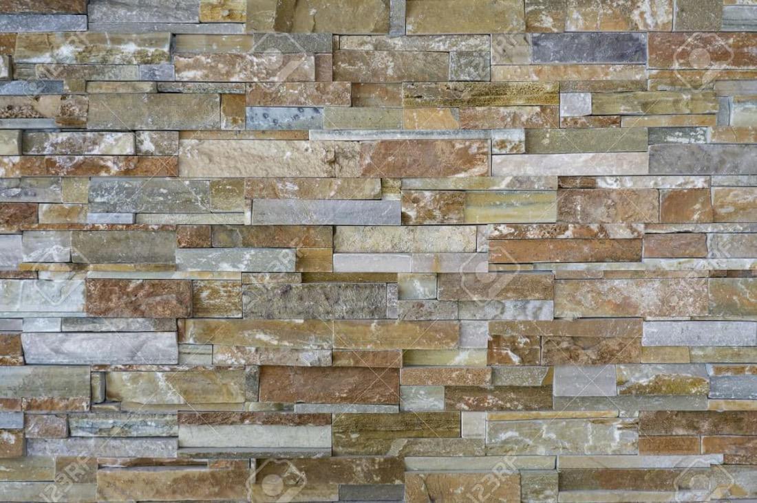 62836025 patr n de piezas de piedra natural azulejos para - Azulejos de pared ...