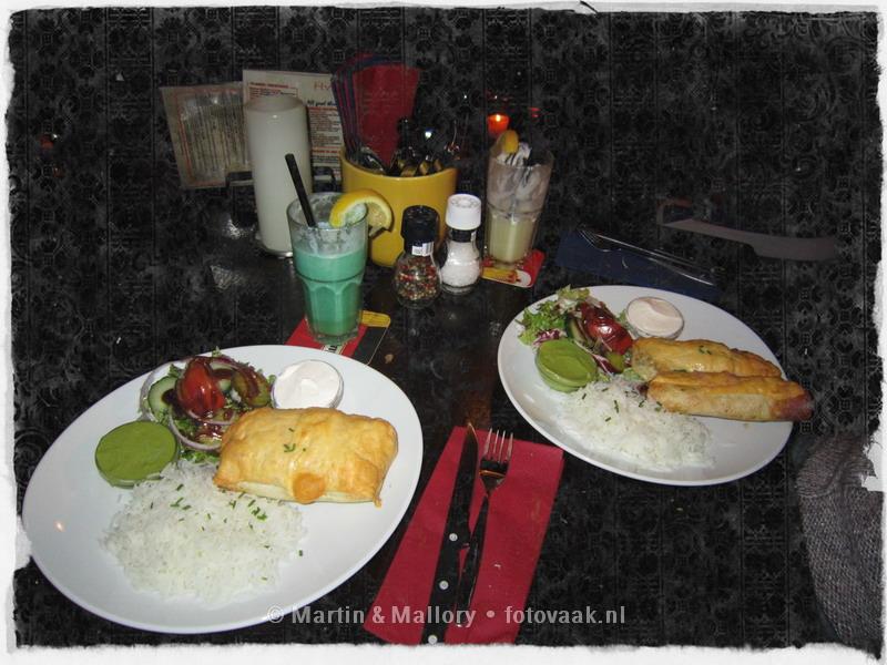 Cocktails y Burrito's en Havana