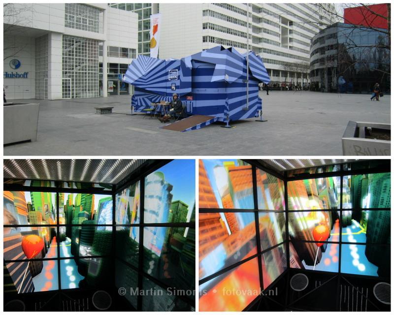 UFO op het Haagse Spuiplein?