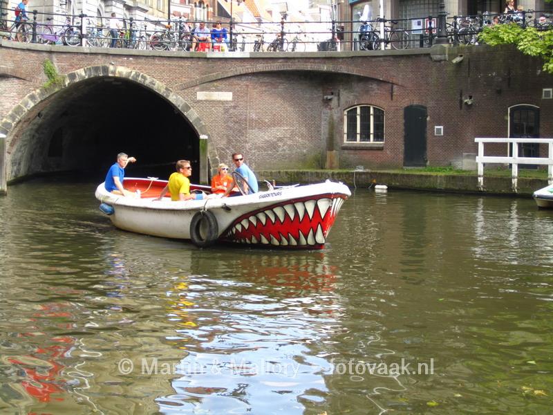 Zomerse dag in Utrecht
