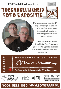 Toegankelijkheid Foto Expositie