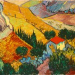 van-gogh-landscape-with-house-and-ploughman-1889