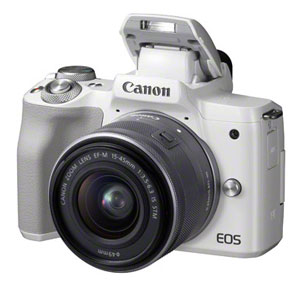 The new Canon EOS M50 has a viewfinder, and it's about time