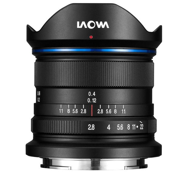Laowa 9mm f/2.8 Zero-D is the widest f/2.8 lens yet for APS-C mirrorless