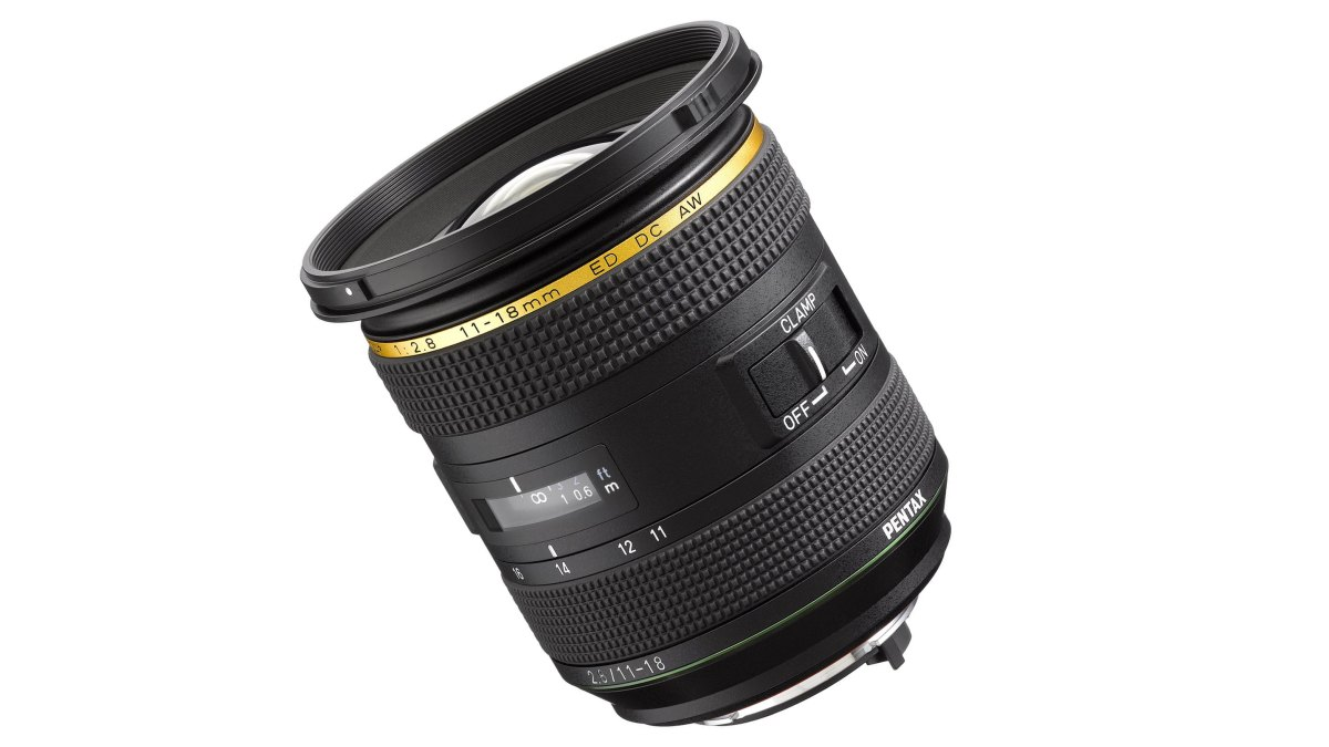 HD Pentax-DA* 11-18mm F2.8 ED DC AW announced for APS-C Pentax owners