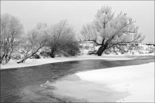 Протва зимой