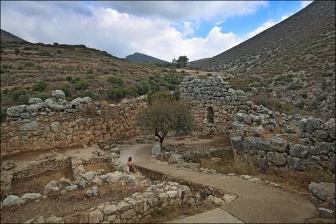 Дальний угол Микенского акрополя