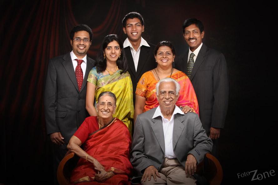 Studio Lighting Setup Family Portraits