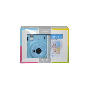 Instax Mini 11 Sky Blue FUN SET