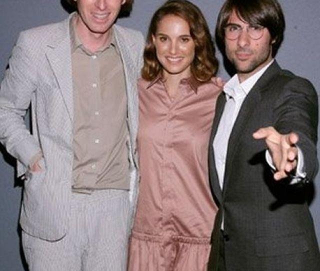Natalie Portman Jason Schwartzman And Wes Anderson At Event Of Hotel Chevalier