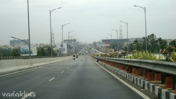 View of the Electronic City Elevated Expressway