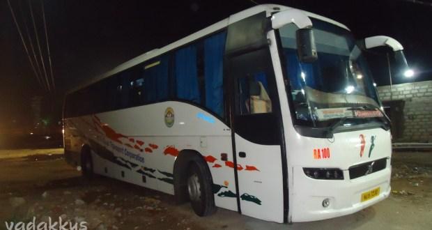 Kerala KSRTC Volvo RA100 Bangalore - Trivandrum