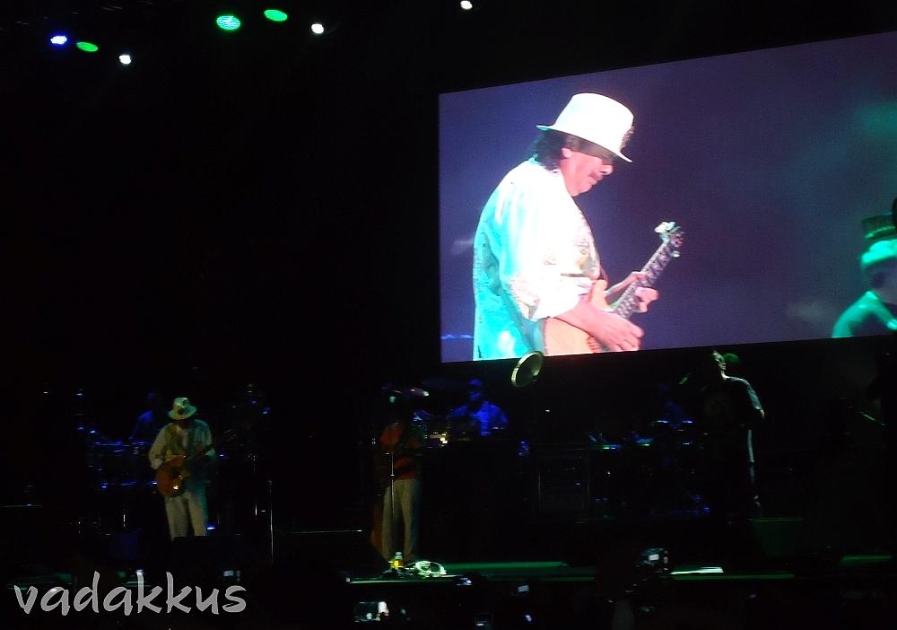 Carlos Santana performing Maria Maria Live in Bangalore India